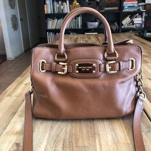 Michael Kors Carmel Leather Bag Like New